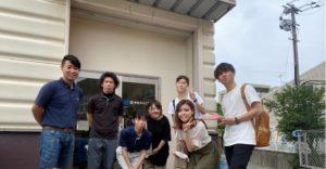 福岡大学の方から取材を受けました。